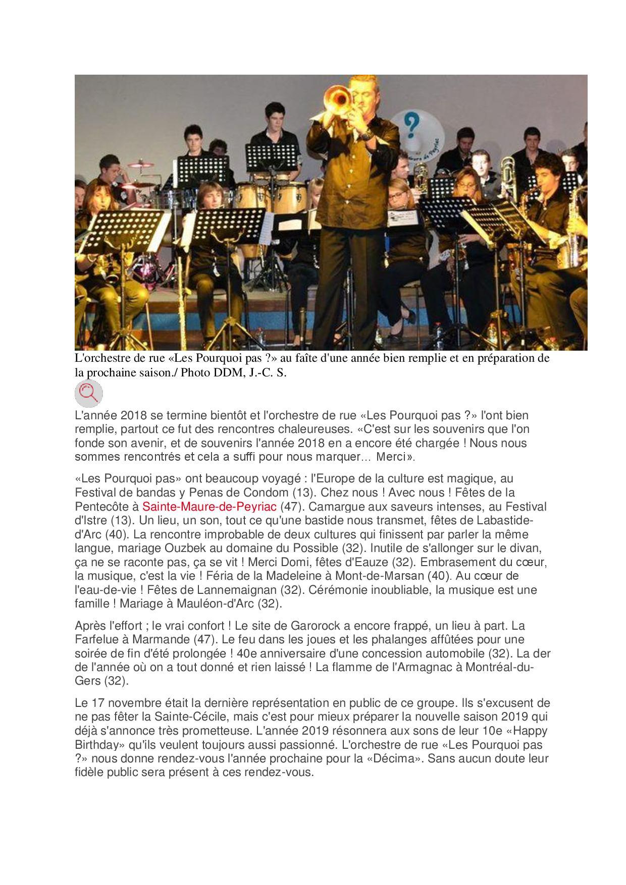 Article fin annee la depeche 47 page 001