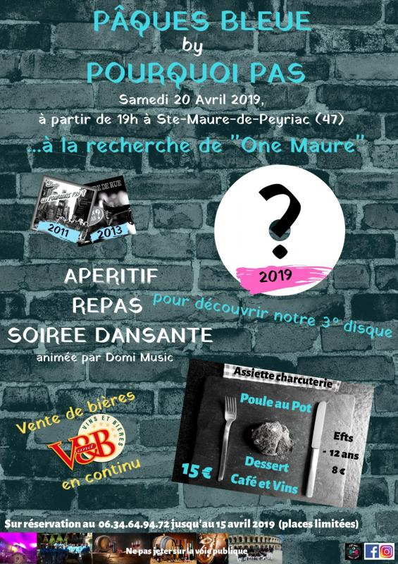 Affiche soiree 20 avril 2019